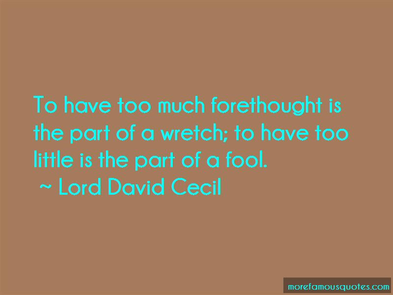 Lord David Cecil Quotes Pictures 3