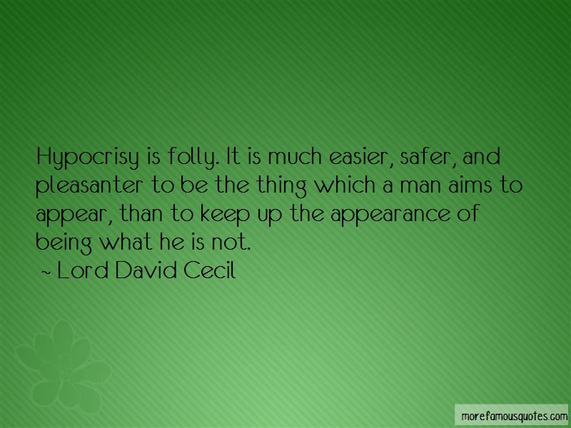 Lord David Cecil Quotes Pictures 4