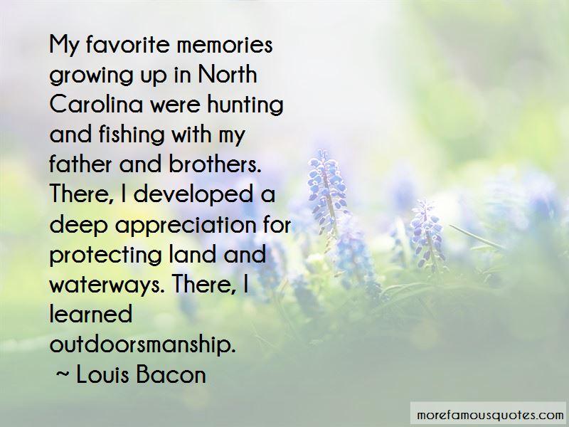 Louis Bacon Quotes