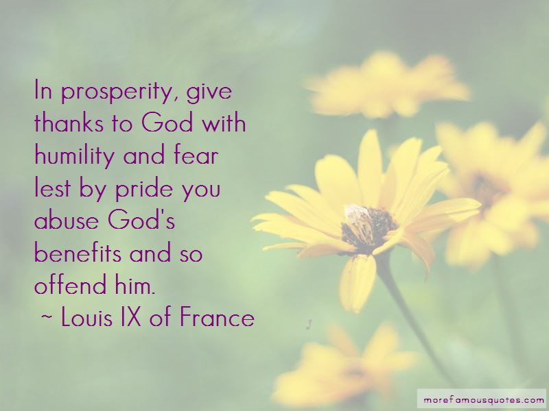 Louis IX Of France Quotes