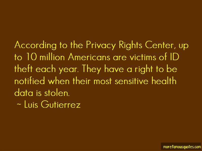 Luis Gutierrez Quotes Pictures 2