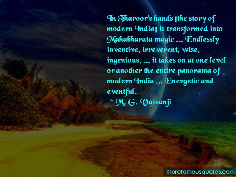M. G. Vassanji Quotes Pictures 2