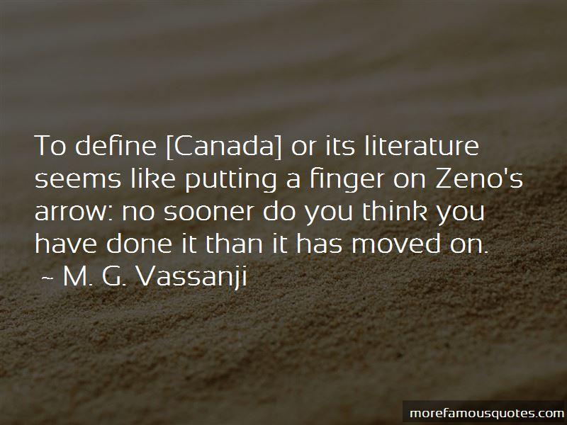 M. G. Vassanji Quotes