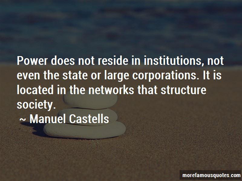 Manuel Castells Quotes Pictures 3
