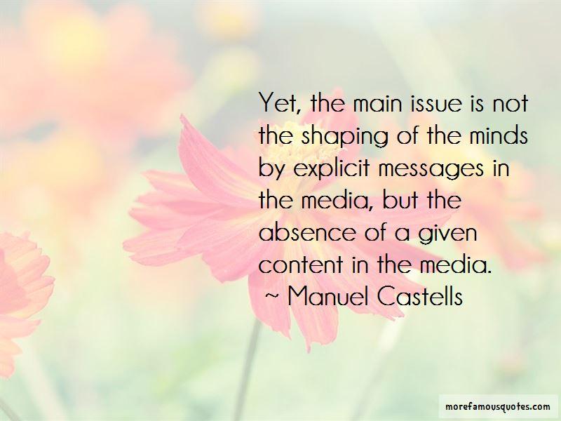 Manuel Castells Quotes Pictures 4
