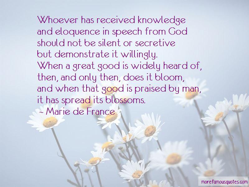 Marie De France Quotes Pictures 2