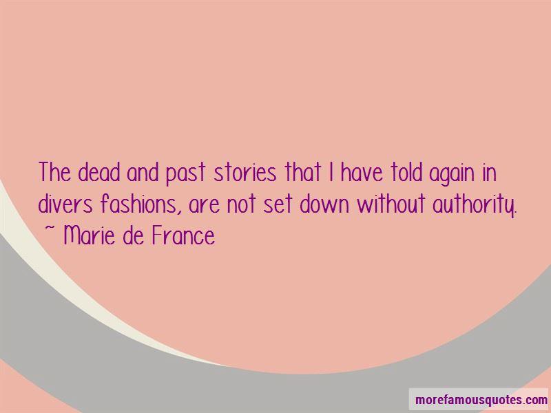 Marie De France Quotes Pictures 3