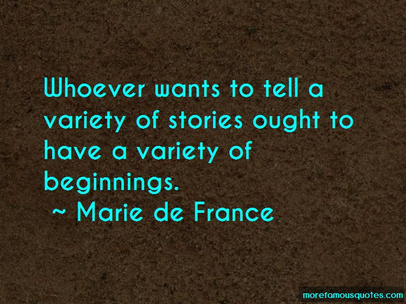 Marie De France Quotes Pictures 4