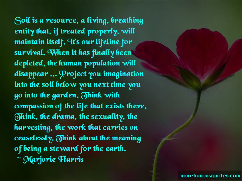 Marjorie Harris Quotes Pictures 2