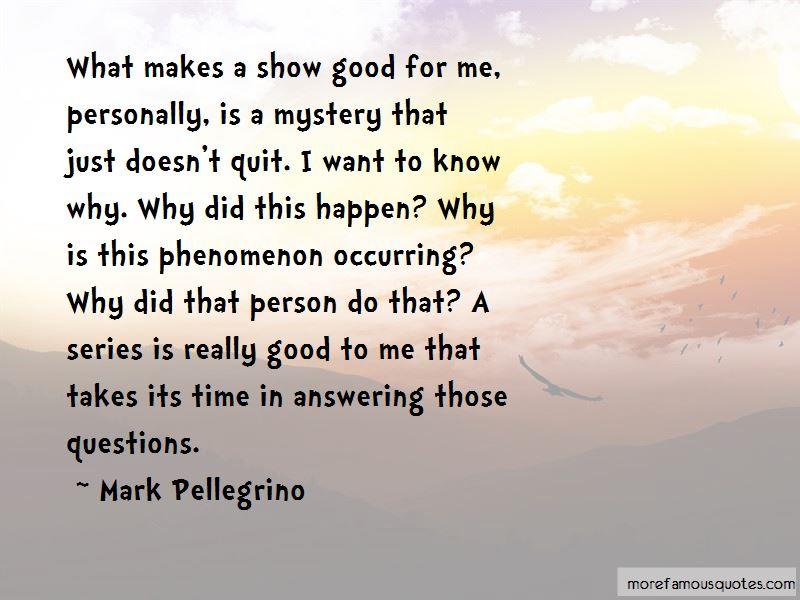 Mark Pellegrino Quotes Pictures 2