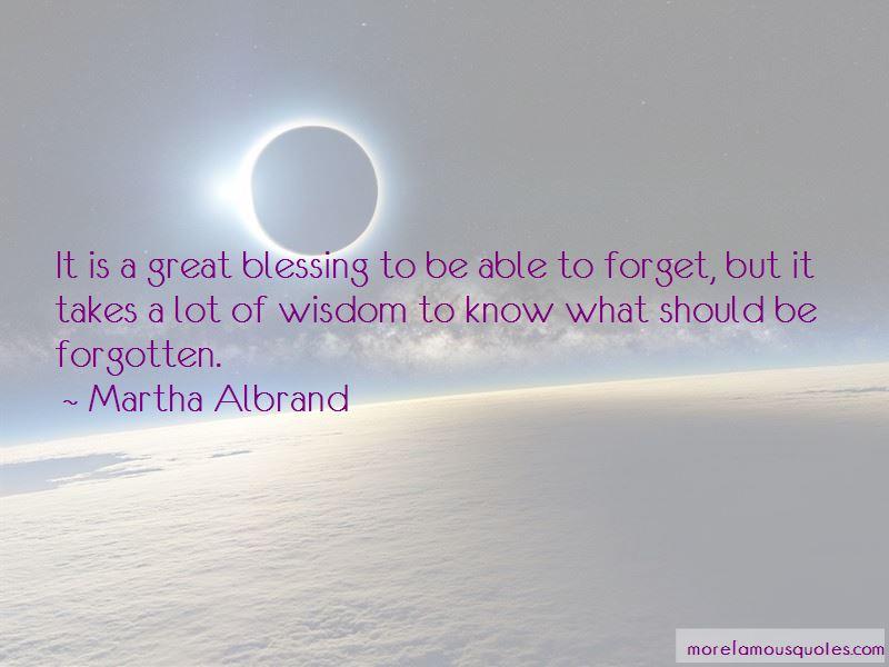 Martha Albrand Quotes Pictures 2