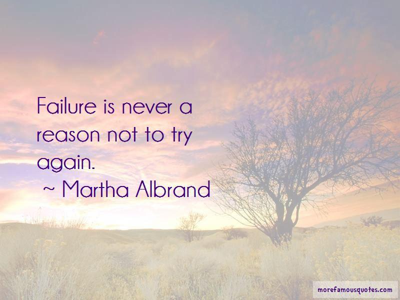 Martha Albrand Quotes
