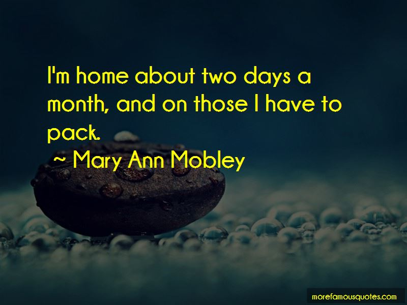 Mary Ann Mobley Quotes Pictures 2