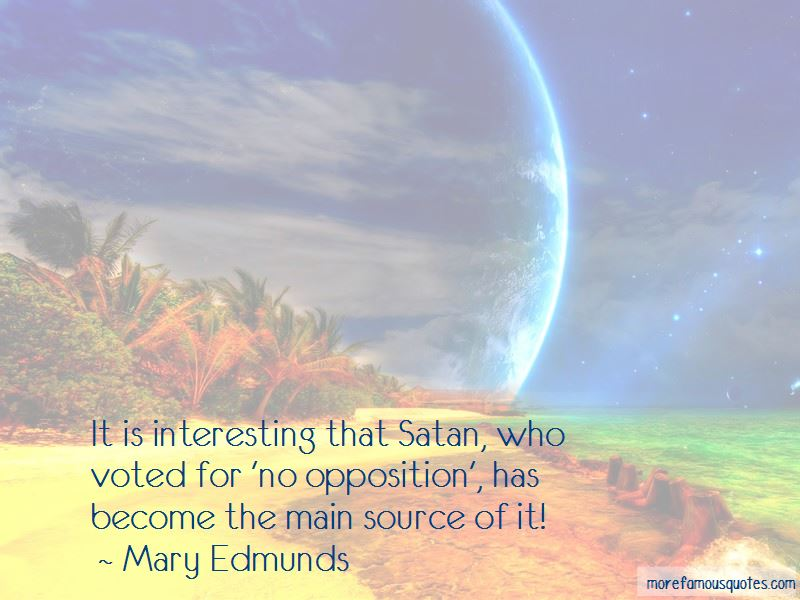 Mary Edmunds Quotes