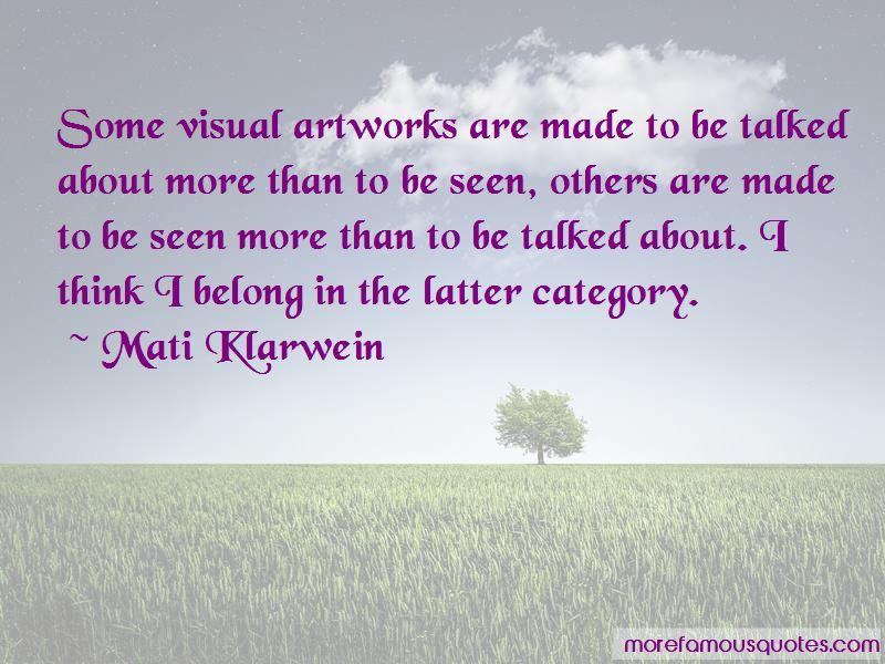 Mati Klarwein Quotes