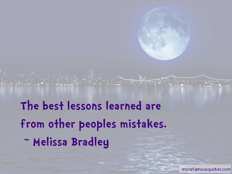 Melissa Bradley Quotes Pictures 4