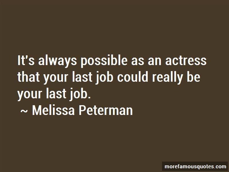 Melissa Peterman Quotes