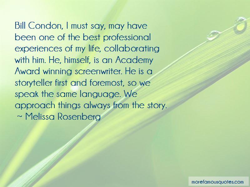 Melissa Rosenberg Quotes Pictures 3