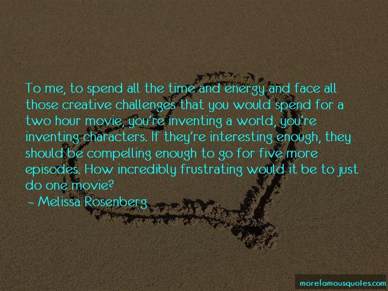 Melissa Rosenberg Quotes Pictures 4
