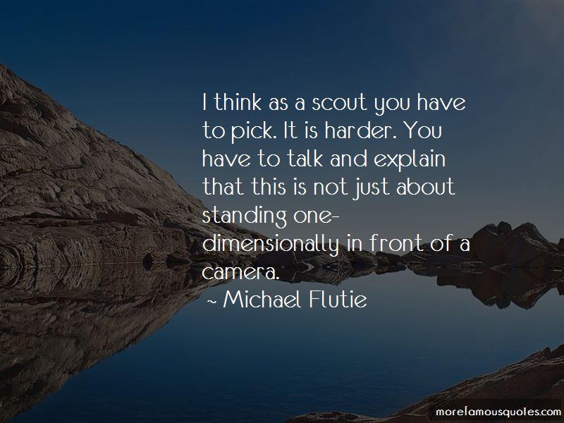 Michael Flutie Quotes