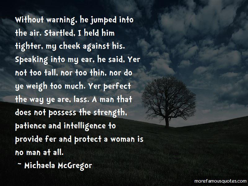 Michaela McGregor Quotes Pictures 2