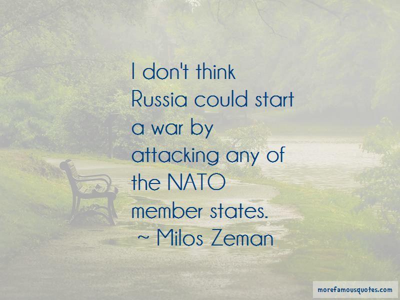 Milos Zeman Quotes Pictures 3