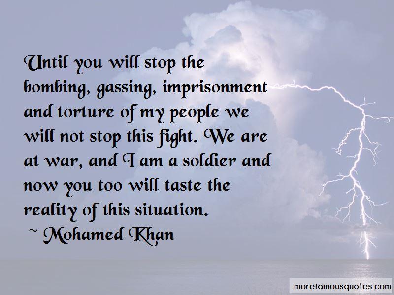 Mohamed Khan Quotes