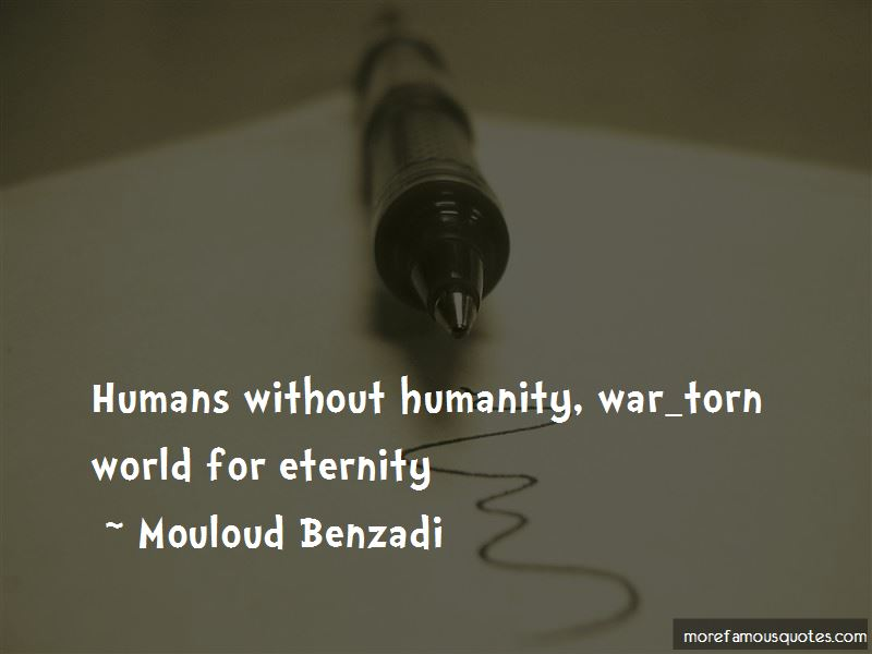 Mouloud Benzadi Quotes Pictures 3