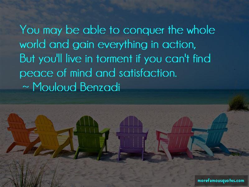 Mouloud Benzadi Quotes
