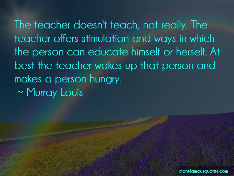 Murray Louis Quotes