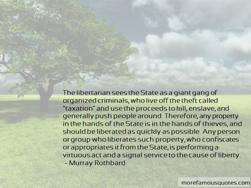Murray Rothbard Quotes Pictures 2
