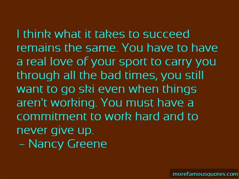 Nancy Greene Quotes Pictures 3