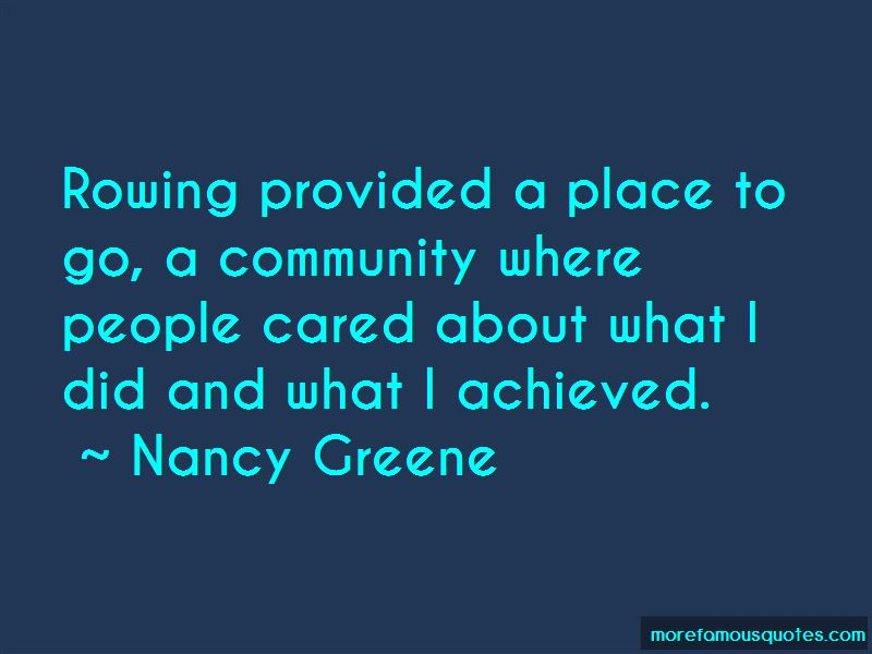 Nancy Greene Quotes Pictures 4
