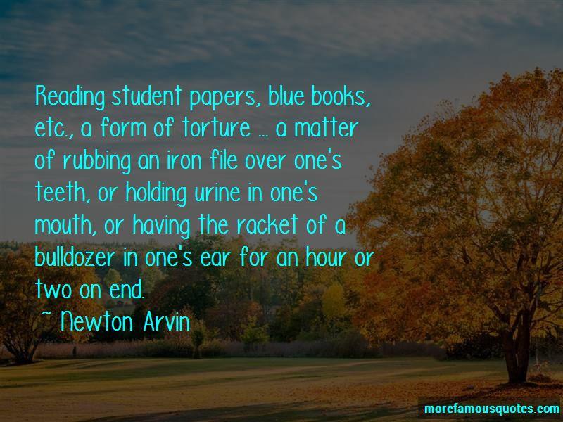 Newton Arvin Quotes