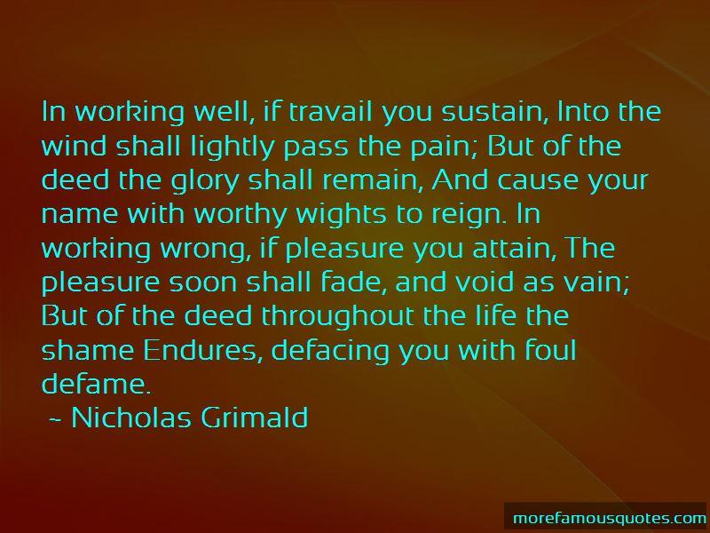 Nicholas Grimald Quotes Pictures 2