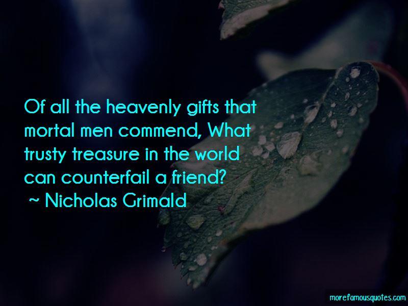 Nicholas Grimald Quotes