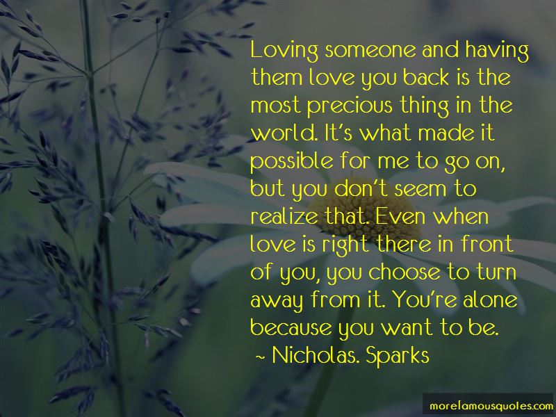 Nicholas. Sparks Quotes Pictures 4