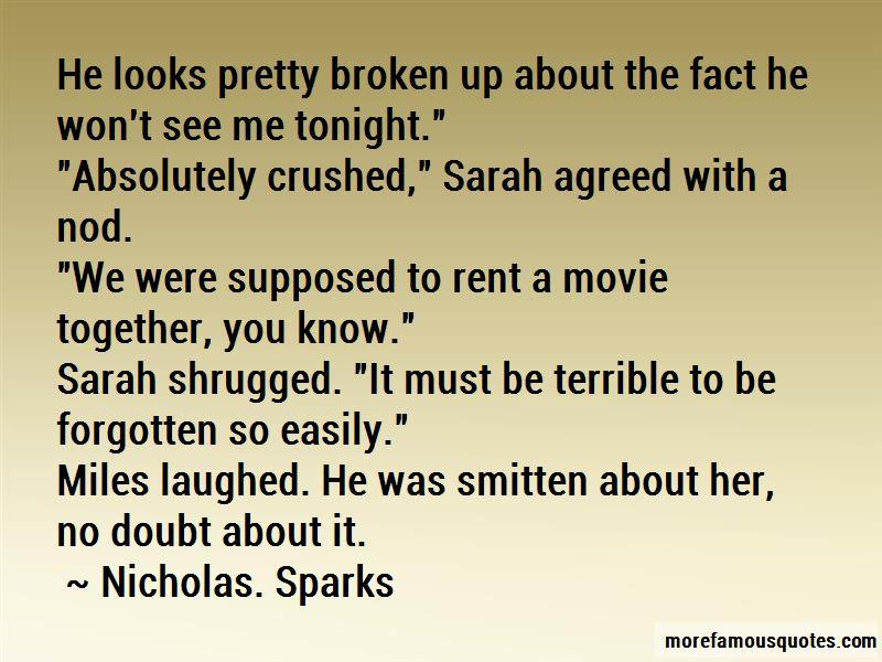 Nicholas. Sparks Quotes