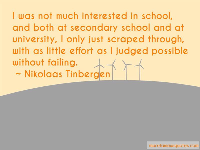 Nikolaas Tinbergen Quotes