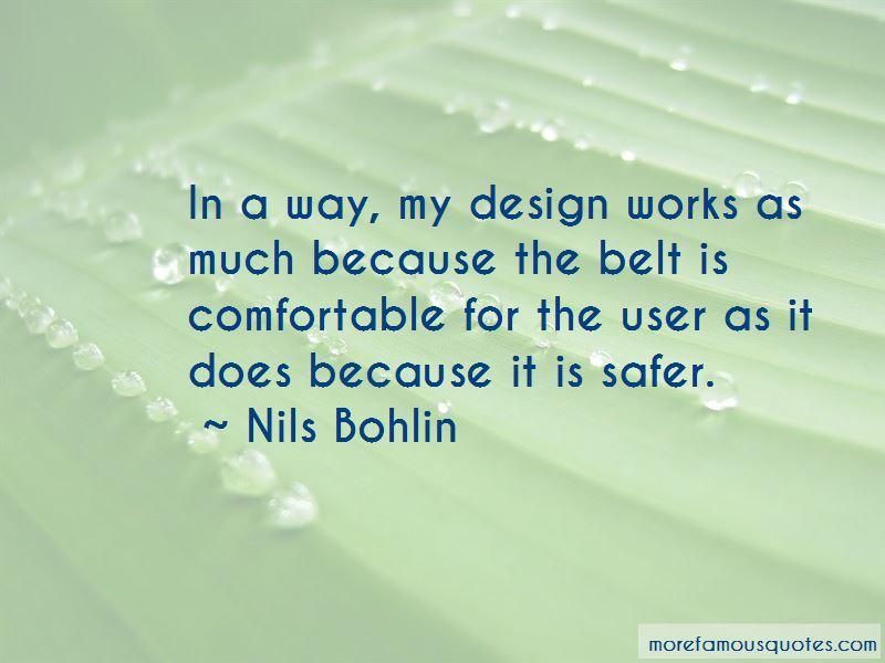 Nils Bohlin Quotes