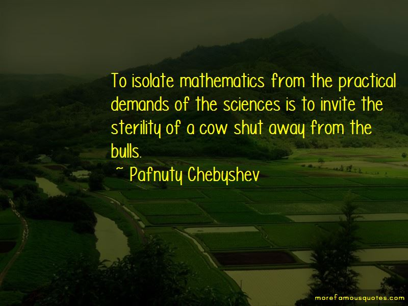 Pafnuty Chebyshev Quotes