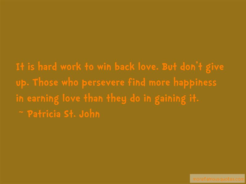 Patricia St. John Quotes