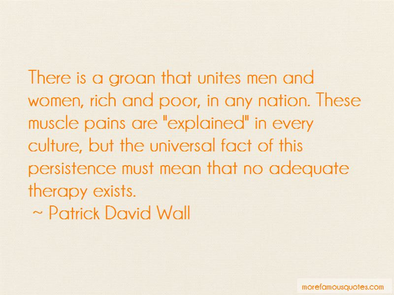 Patrick David Wall Quotes Pictures 2