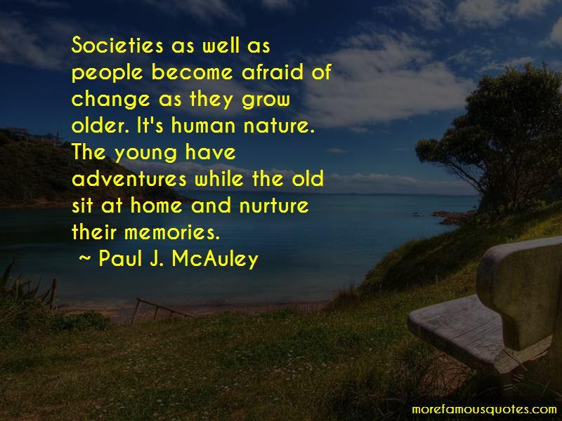 Paul J. McAuley Quotes