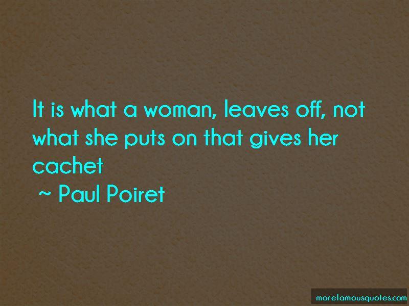 Paul Poiret Quotes Pictures 2