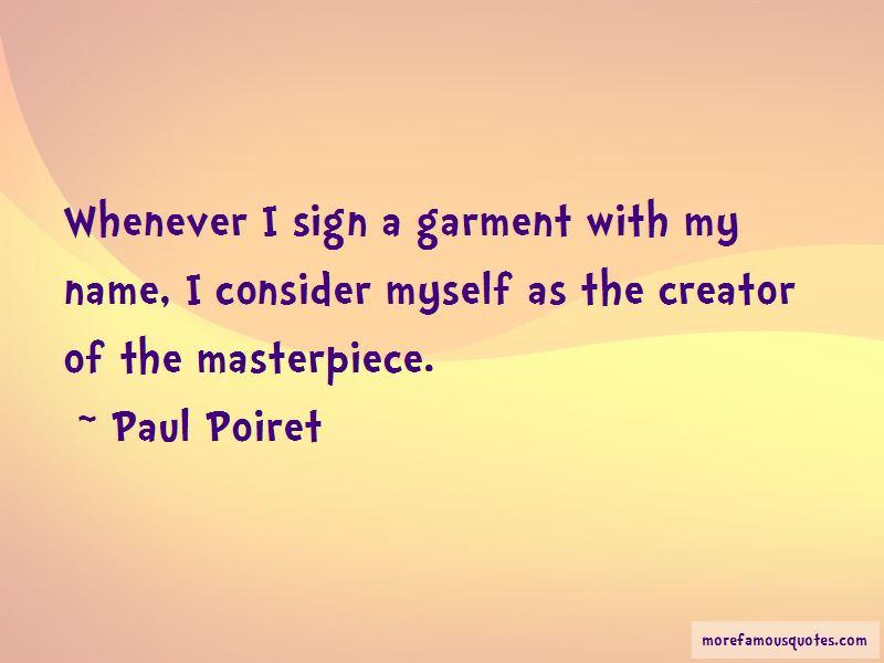 Paul Poiret Quotes Pictures 3