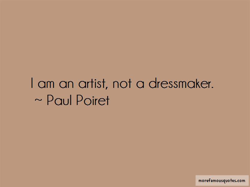 Paul Poiret Quotes