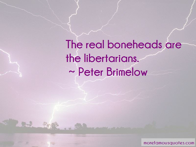 Peter Brimelow Quotes Pictures 2