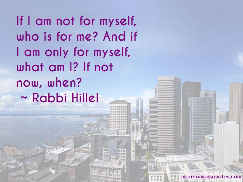Rabbi Hillel Quotes Pictures 2