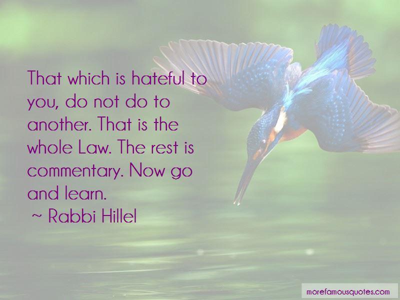 Rabbi Hillel Quotes Pictures 3